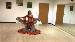 russischer Zigeunertanz, Gypsy dance