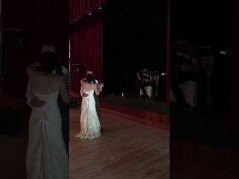 Aaron Pritchett surprises couple at their wedding