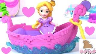 Принцессы Диснея. РАПУНЦЕЛЬ! Игрушка и Раскрасска Disney Princess Coloring Book Игры для Девочек