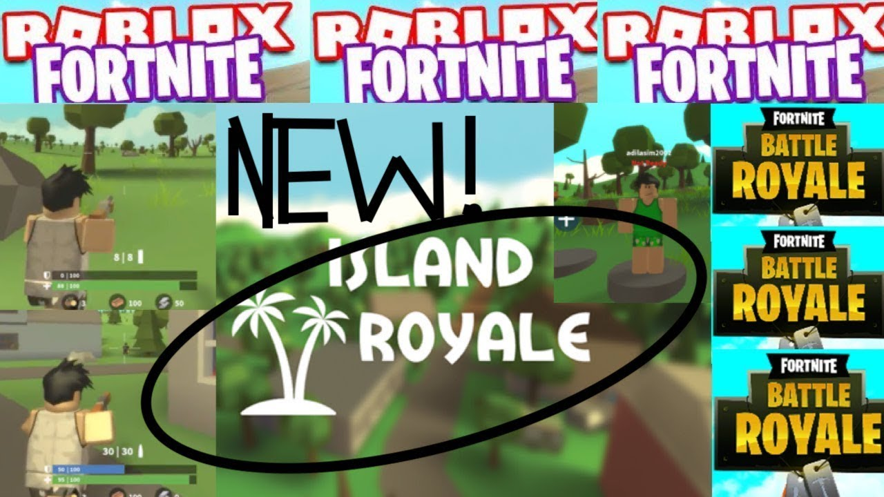 NEW FORTNITE GAME ON ROBLOX?! ISLAND ROYALE!! (Roblox ...