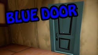 HELLO NEIGHBOR BETA 3 BLUE DOOR