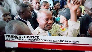 URGENT MESSAGE DE L'ARTISTE KOFFI OLOMIDE ANNONCE SON ARRIVÉ À PARIS POUR BIENTÔT CAR IL EST LIBRE