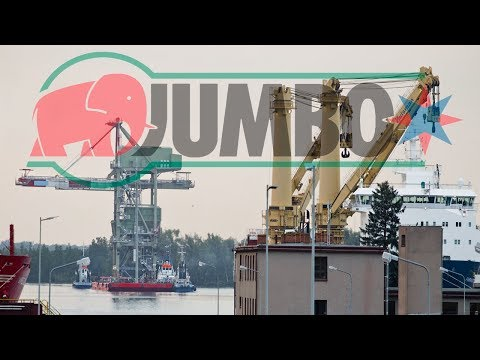 Heavy Lift Crane 3,000 Tons Jumbo Shipping Fairmaster Port Szczecin