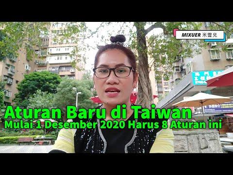 ADA 8 ATURAN BARU DI TAIWAN KARENA BANYAKNYA TKW INDONESIA YANG POSITIF