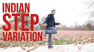 How to Breakdance | Indian Step Variation | Top Rock Basics