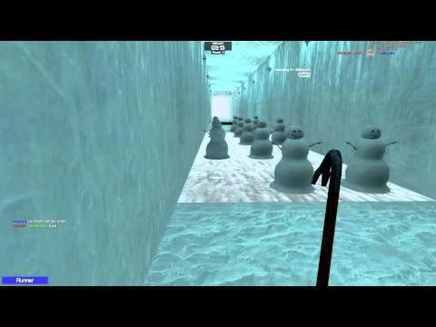 BHOPPING GMod Deathrun - Iceworld + Minecraft