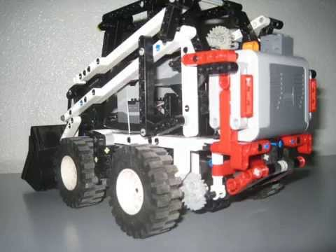 lego technic bobcat rc youtube. Black Bedroom Furniture Sets. Home Design Ideas