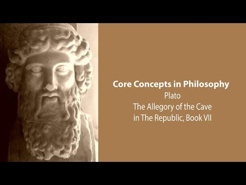 Plato's Republic Book 7 | The Allegory Of The Cave | Philosophy Core Concepts