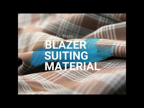 Blazer Suiting Material - Today's Fashion Doha