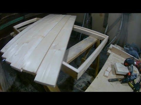 Как самому сделать дверь в баню из доски 50 мм