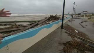 Irene's storm surge hits N.C. coast