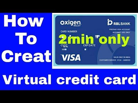 How to creat virtual credit card 2017 [Hindi]