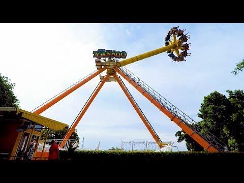 เครื่องเล่น Tornado |Technical Park - Typhoon| สวนสนุก Dream World