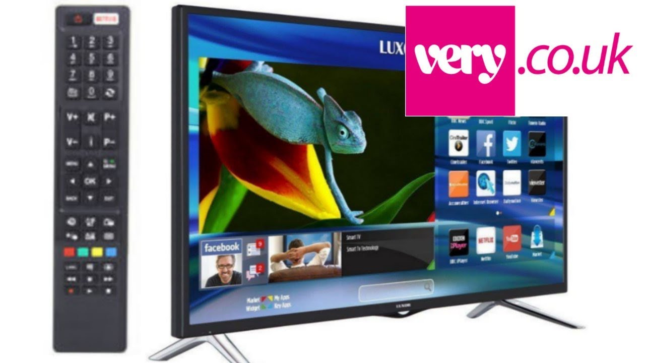 Luxor LED Smart Tv with Opera VEWD store Netflix and load more