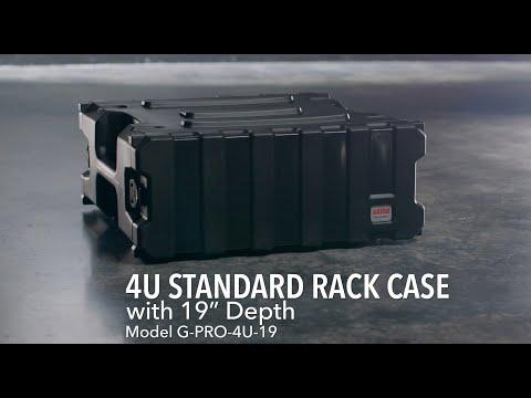 Gator Cases G-PRO-4U-19 4U Standard Rack Case
