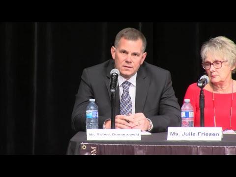Medicine Hat Chamber of Commerce Municipal Election Forum: Night 1