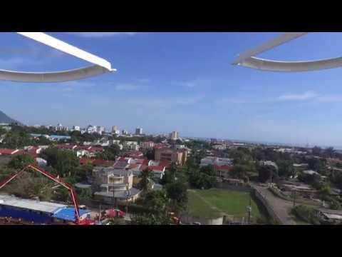 Drone Flight over Kingston Jamaica - Advanced Insurance Adjusters