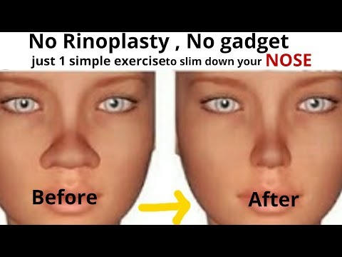slim-down-your-nose-with-1-simple-exercise-#reshapenose|-very-effective-exercise-for-nose-slimming