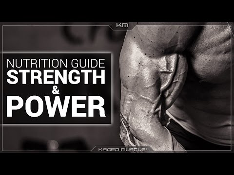 Nutrition Guide Foods For Strength And Power