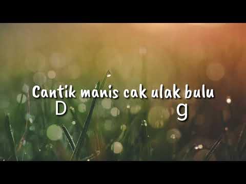 chord gitar/ukulele dan lirik oe adek berjilbab biru (viral)