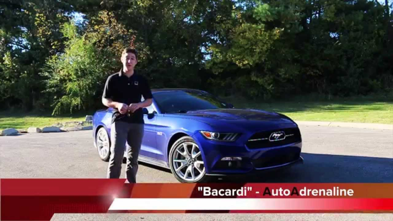 2015 mustang gt auto 50th anniversary loaded 0 60 review autoadrenaline youtube