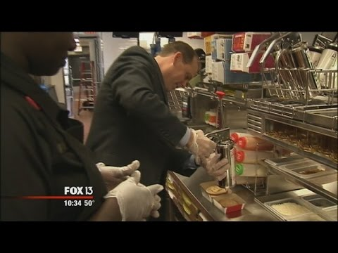 Behind the scenes of a brand new McDonald's