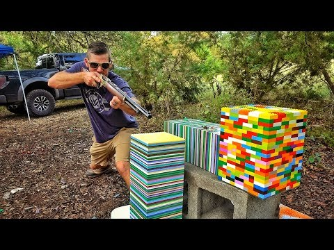 LEGOS... Are They BULLET PROOF?!?!