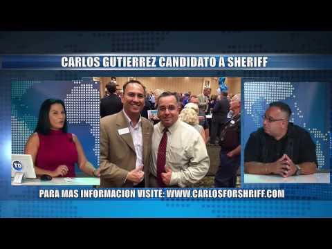 Carlos Gutiérrez candidato a Sheriff del Condado de Collier
