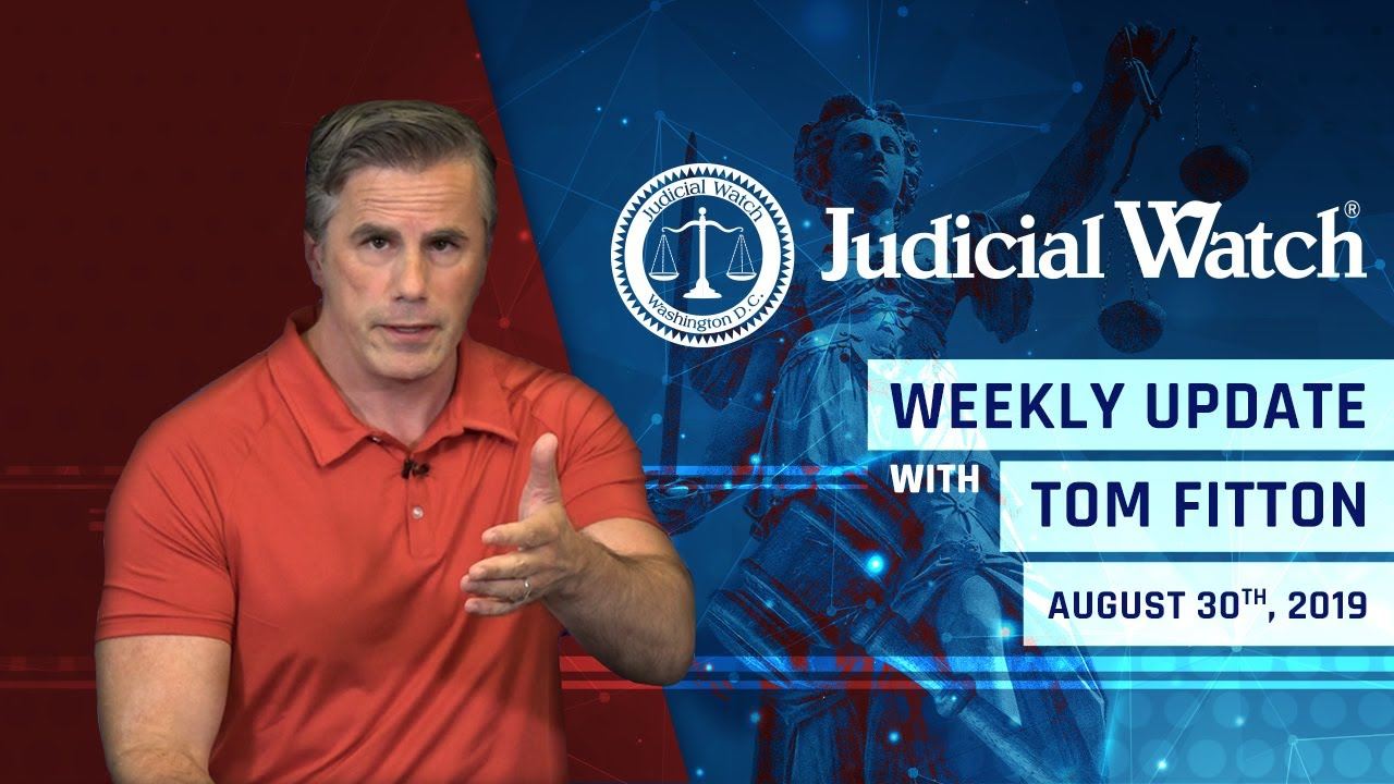 Judicial Watch Court Gives JW New Clinton Email Discovery, Anti-Trump Coup Exposed in Comey/IG Repor