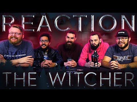 The Witcher | Main Trailer | Netflix REACTION!!