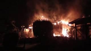 Gartenhausbrand in Trier   Brandstiftung nicht ausgeschlossen