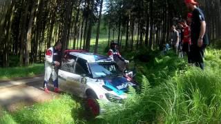 Rallye Český Krumlov 2016 Jan Černý crash RZ 9 Rožmberk