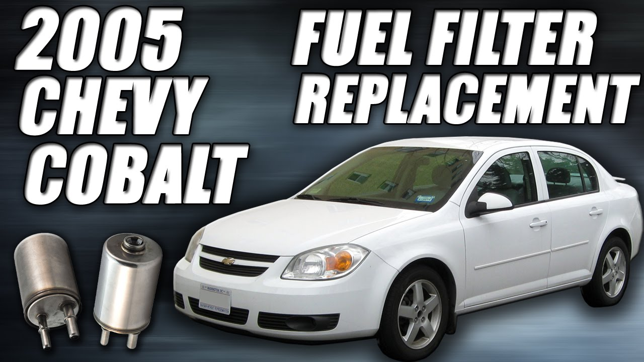 Chevy Cobalt Fuel Filter Replacement Tutorial