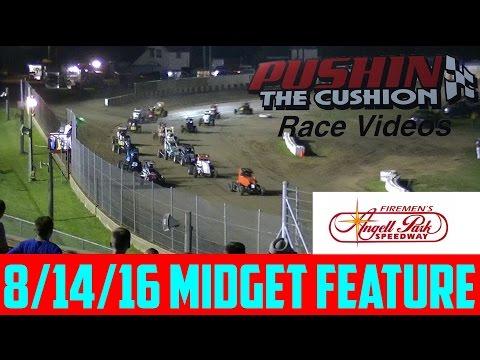 8/14/16 Angell Park Speedway Midget Feature