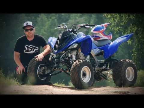 2011 Yamaha Raptor 700R Test Ride - YouTube