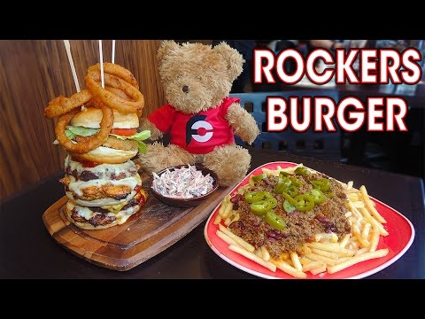 ULTIMATE BURGER CHALLENGE IN CAMBRIDGE!!