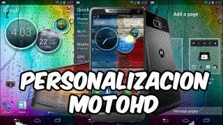 Personalizacion Launcher & Widget MOTOROLA HD para Android