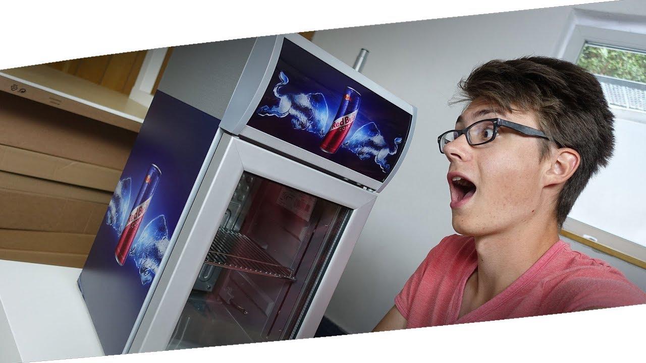 Kühlschrank Redbull : Der red bull kÜhlschrank ist da! studio vlog #7 youtube