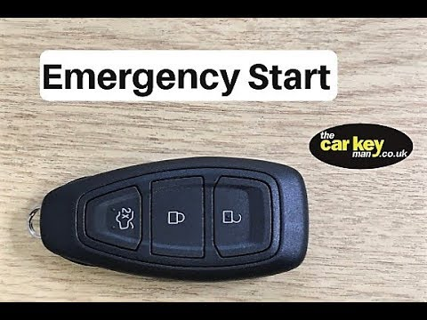 Ford C Max Key Problem How To Start Car Youtube
