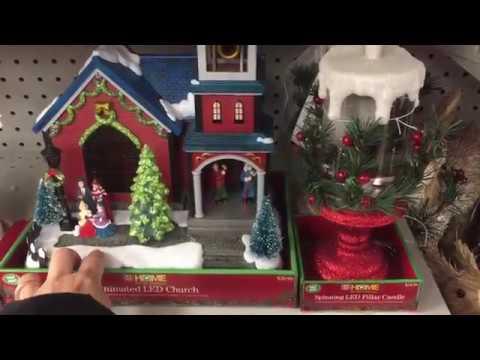 HOME LED musical christmas tree| Animated LED church at Ride Aid