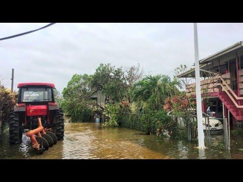 Blackouts, flooding as cyclone batters Tongan capital