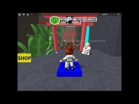 Jugando Escapa Del Ninja Ninja Training Obby Read Desc Youtube