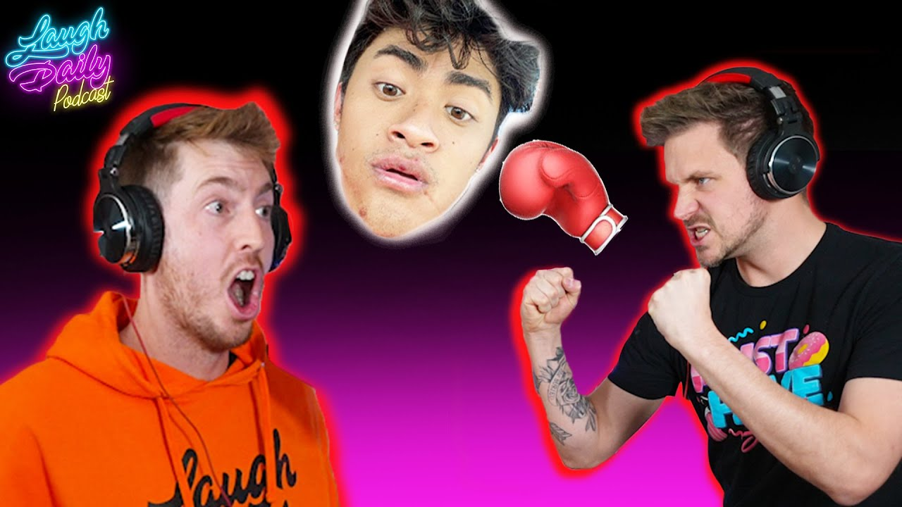 BOXING AGAINST ANOTHER YOUTUBER?! - Podcast Ep. 15