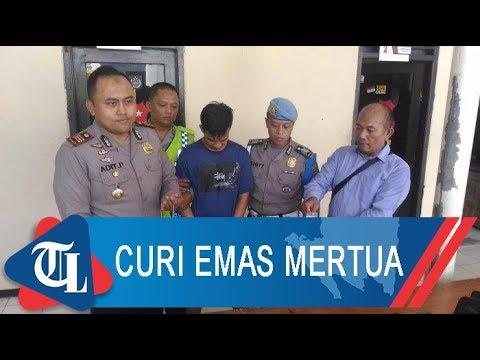 Curi Perhiasan Mertua | Tribun Lampung News Video