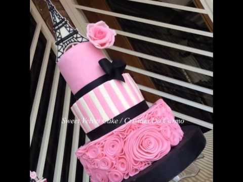 Paris Themed Quince Cakes Love at First Bite YouTube