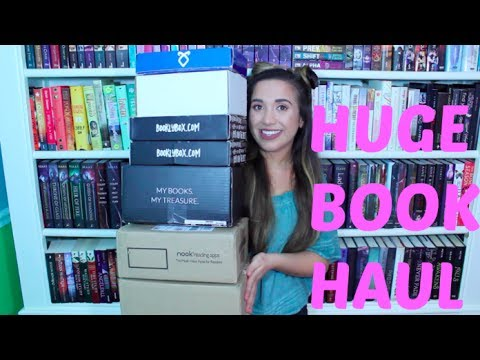 HUGE Book Haul/Unboxing (15+ Books)
