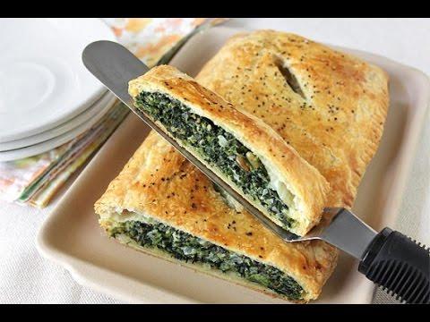 Ricetta torta pasta sfoglia ricotta e spinaci