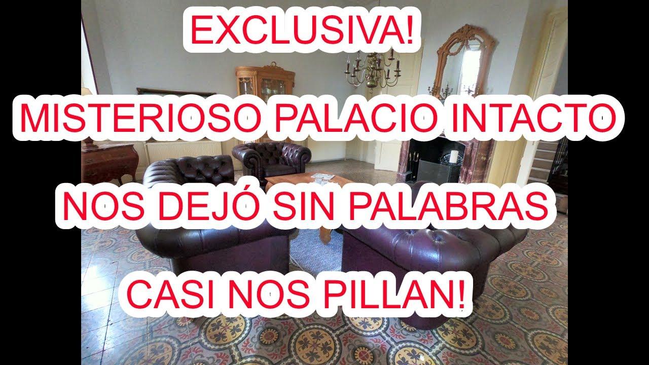 LO QUE ESCONDE ESTE LUJOSO PALACIO! SALIMOS CORRIENDO! URBEX WOMAN