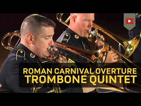Roman Carnival Overture Op. 9 for Five Trombones