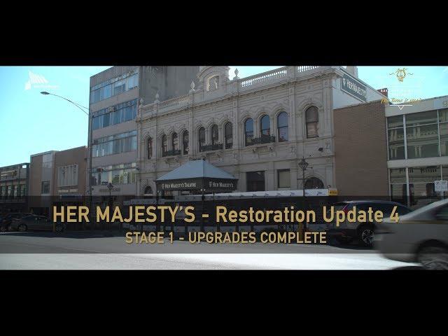 Her Majesty's Theatre Restoration Update 4 - FINAL
